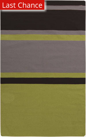 Rugstudio Sample Sale 106403R Lime / Gray Area Rug