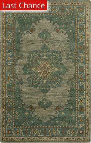 Rugstudio Sample Sale 117742R Teal Area Rug