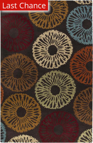 Rugstudio Sample Sale 57062R Espresso Area Rug