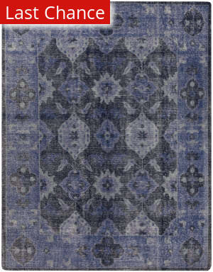 Rugstudio Sample Sale 111732R Navy Area Rug