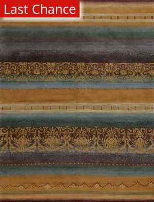 Rugstudio Sample Sale 45419R Gold Area Rug