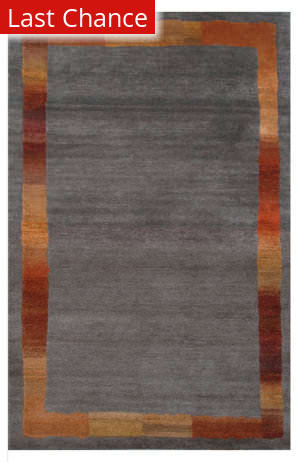 Rugstudio Sample Sale 87696R Gray Area Rug