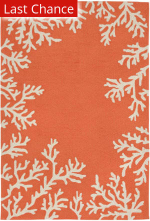 Rugstudio Sample Sale 189702R Coral Area Rug