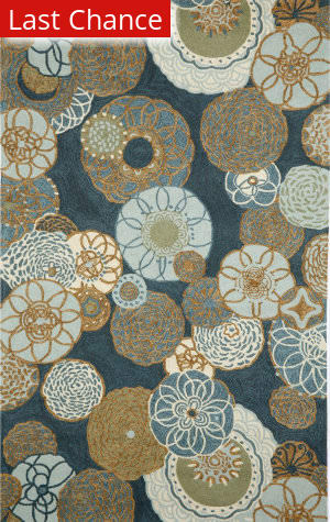 Rugstudio Sample Sale 190059R Denim Area Rug