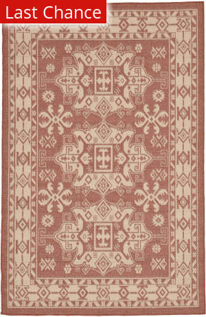 Rugstudio Sample Sale 190172R Terracotta Area Rug