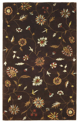 828 Ellington Collection EL12 Brown Area Rug