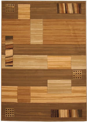 828 Laguna Collection LG25 Cream/Green Area Rug