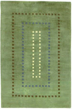 828 Himalayan H310 Green/Blue/Ivory/Brown Area Rug