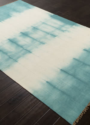 Addison And Banks Flat Weave Abr0741 Blue Turquoise Area Rug
