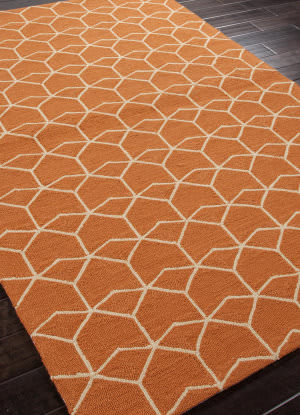 Addison And Banks Hand Hooked Abr0024 Red Orange Outlet Area Rug