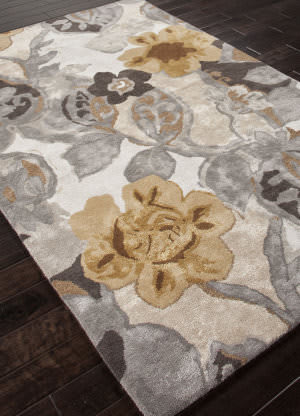 Addison And Banks Hand Tufted Abr0088 Grey Area Rug