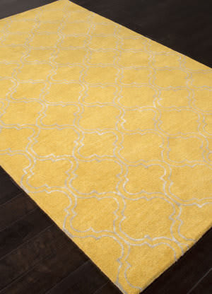Addison And Banks Hand Tufted Abr0826 Bright Yellow Outlet Area Rug