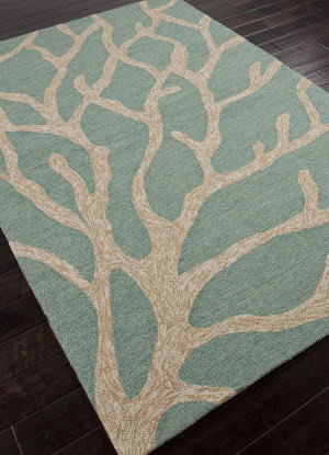 Addison And Banks Hand Hooked Abr0200 Frosty Green Outlet Area Rug