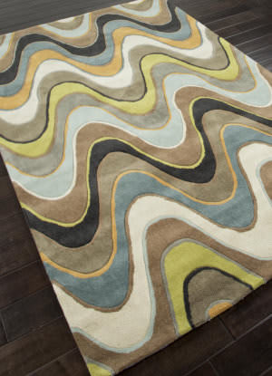 Addison And Banks Hand Tufted Abr0358 Sea Blue/Beige Outlet Area Rug