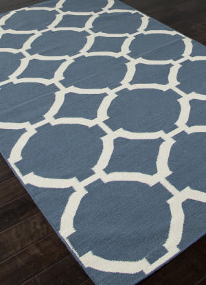 Addison And Banks Flat Weave Abr0468 Dark Denim Area Rug