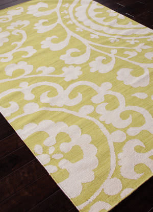 Addison And Banks Flat Weave Abr0471 Wild Lime Outlet Area Rug