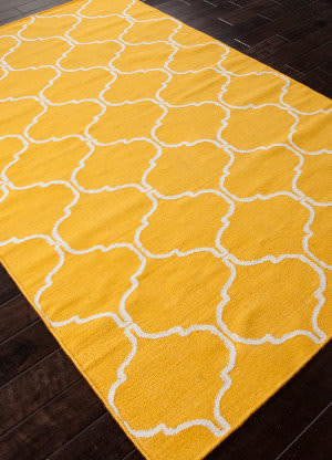 Addison And Banks Flat Weave Abr0707 Mango Area Rug