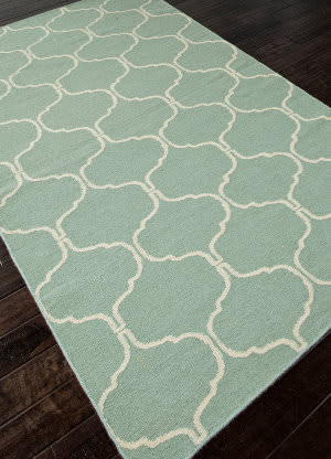Rugstudio Sample Sale 81961R Silver Sea Moss Area Rug