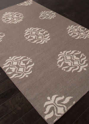 Addison And Banks Flat Weave Abr1251 Dark Gray Area Rug