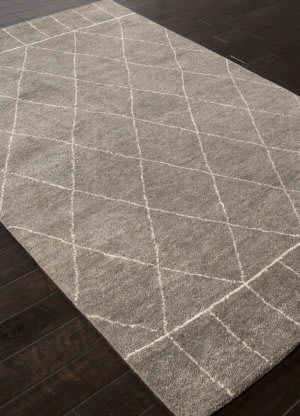 Addison And Banks Hand Knotted Abr1311 Charcoal Slate Area Rug