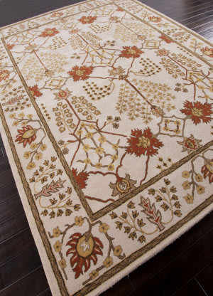 Addison And Banks Hand Tufted Abr1384 Antique White Area Rug