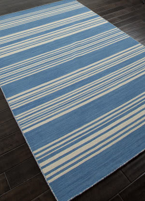 Addison And Banks Flat Weave Abr0606 Bermuda Blue Area Rug