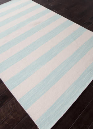 Addison And Banks Flat Weave Abr0637 Aqua Sky Area Rug