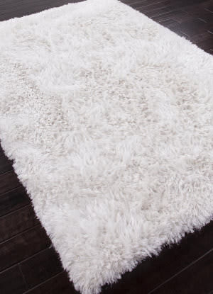 Addison And Banks Shag Abr0729 White Area Rug