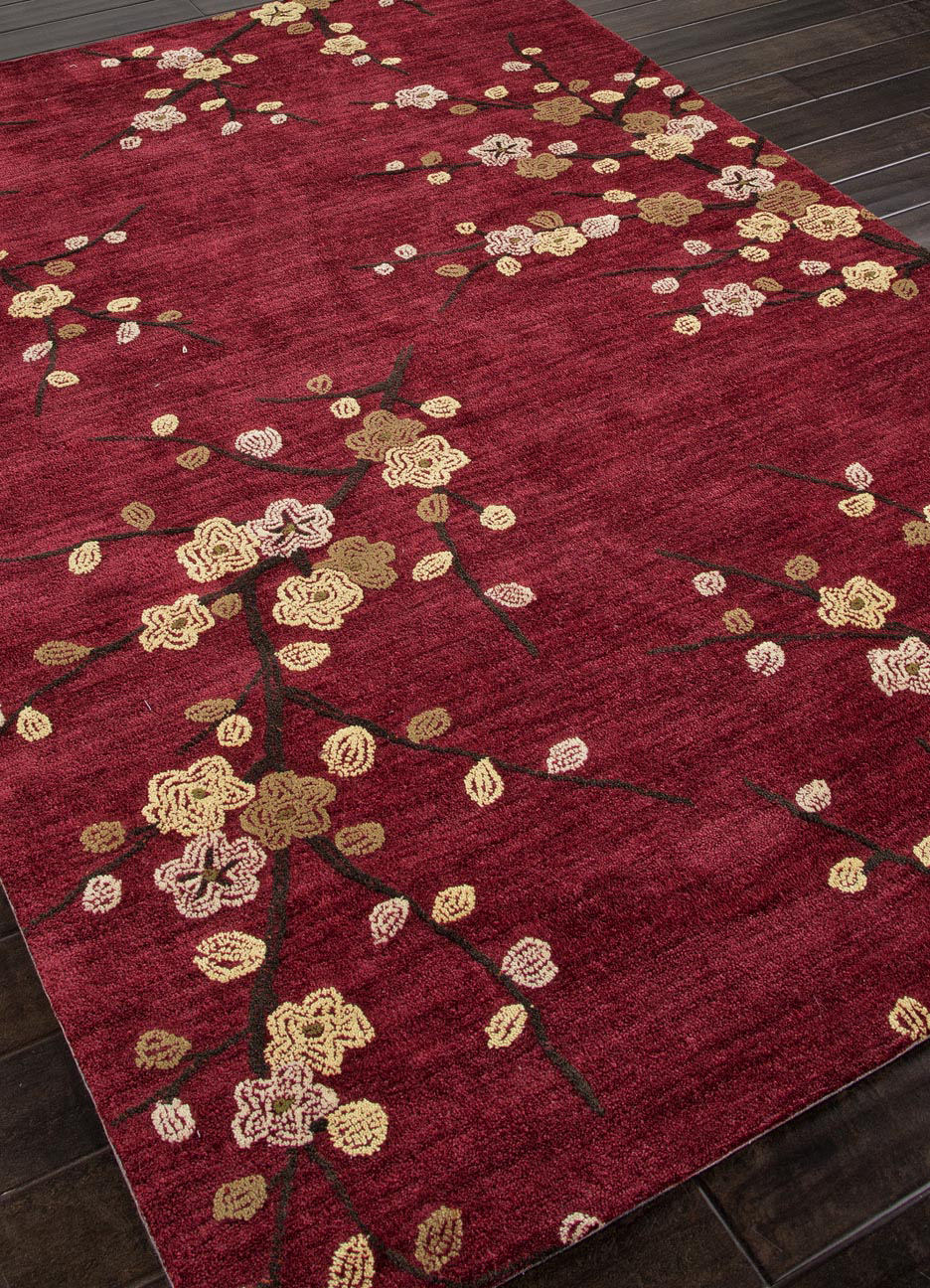 Addison And Banks Hand Tufted Abr0139 Red Area Rug 82117