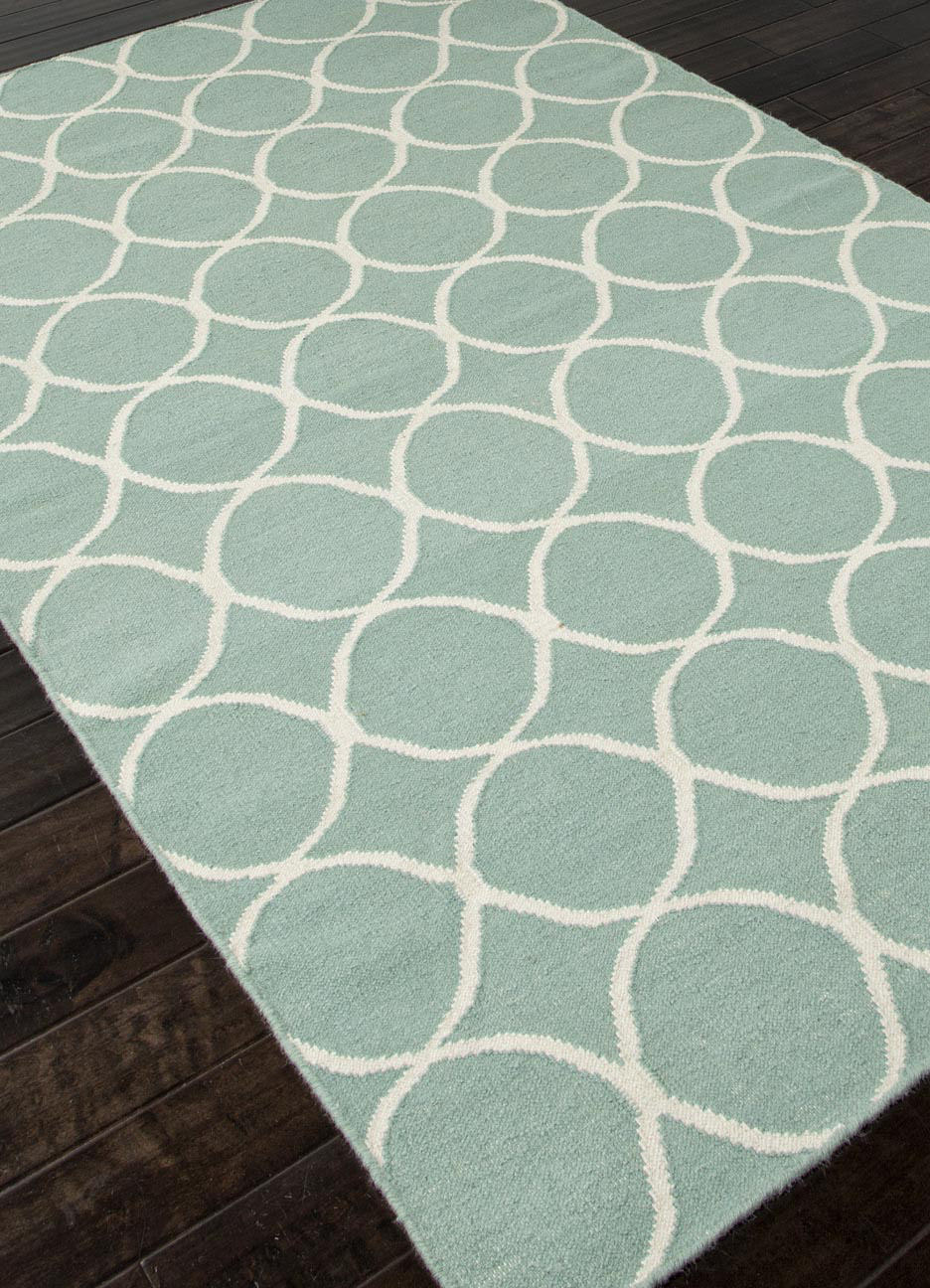 Addison And Banks Flat Weave Abr0450 Light Turquoise