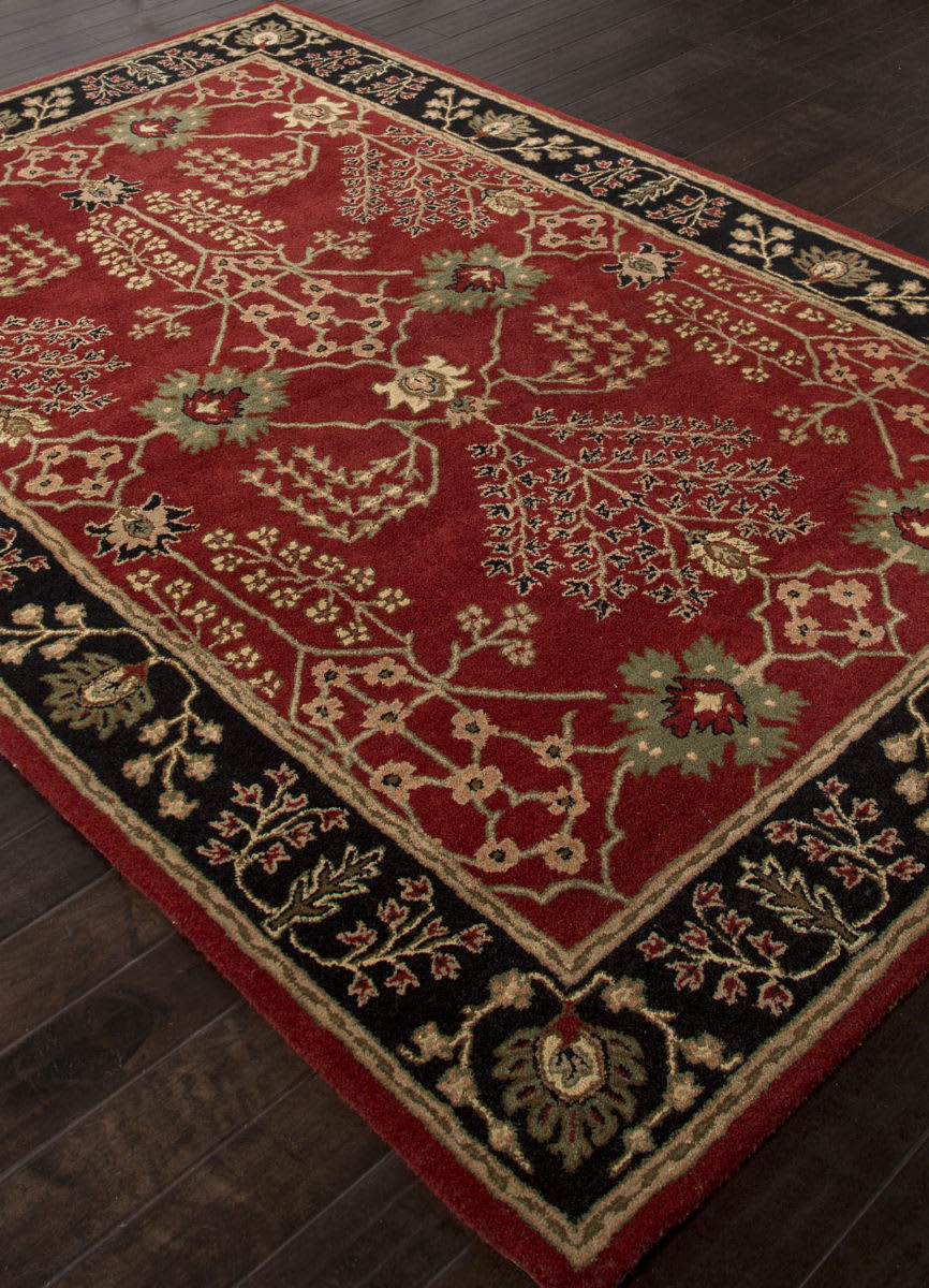 Addison And Banks Hand Tufted Abr1368 Red Rug Studio