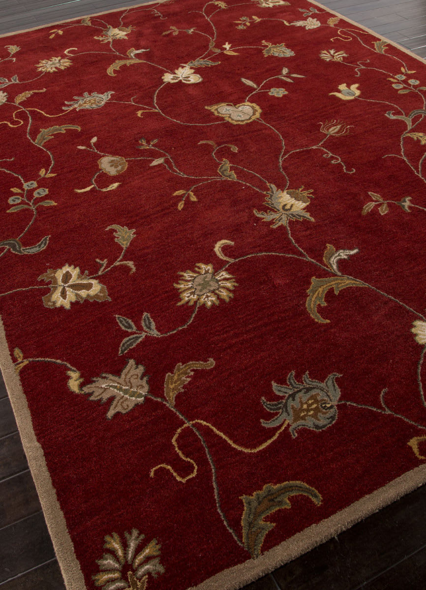 Addison And Banks Hand Tufted Abr1375 Red Area Rug 103856