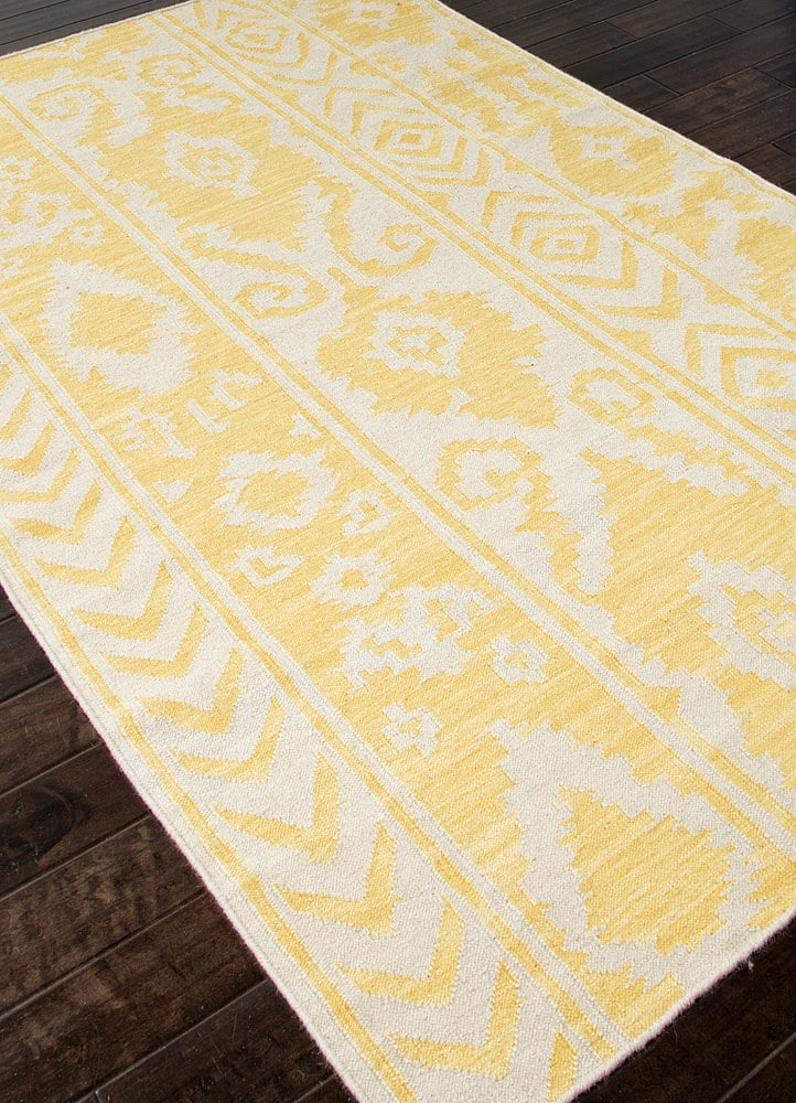 Addison And Banks Flat Weave Abr0455 White Butter