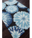 Addison And Banks Hand Hooked Abr0035 Indigo Area Rug