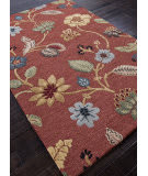 Addison And Banks Hand Tufted Abr0778 Navajo Red Area Rug