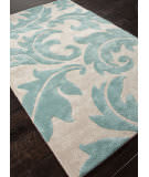 Addison And Banks Hand Tufted Abr0103 Antique White/Light Turquoise Area Rug