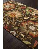Addison And Banks Hand Tufted Abr1046 Dark Chocolate Area Rug