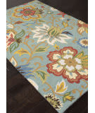 Addison And Banks Hand Hooked Abr1048 Light Turquoise Area Rug