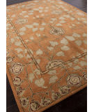 Addison And Banks Hand Tufted Abr0579 Pumpkin Area Rug
