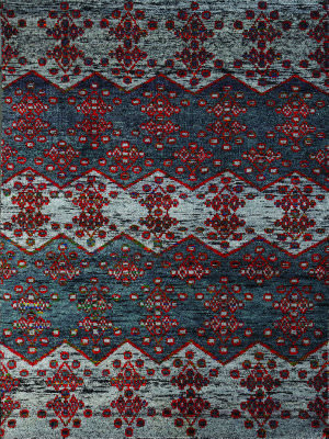 Amer Silkshine Sf-25 Gray Area Rug