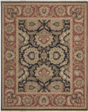 Amer Soumak Coddington Black Area Rug