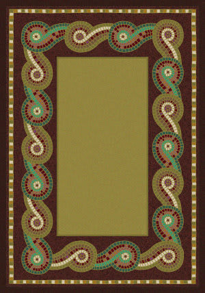 American Dakota New Echota Rolling Water Multi Area Rug