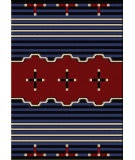 American Dakota Voices Big Chief2 Blue Area Rug