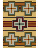 American Dakota Trader Rugs Bounty Yellow Area Rug