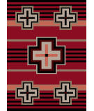 American Dakota Trader Rugs Bounty Red Area Rug