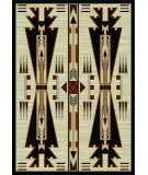 American Dakota Voices Horse Thieves Natural Area Rug