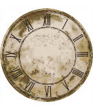 American Dakota Novelty New York Clock Natural Area Rug