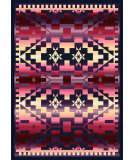 American Dakota Trader Rugs Rainbow Blanket Red Area Rug