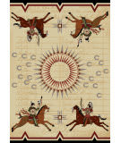 American Dakota Voices War Records Natural Area Rug