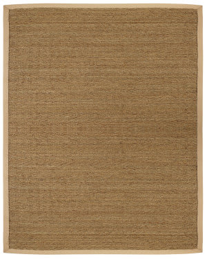 Anji Mountain Seagrass Saddleback  Area Rug